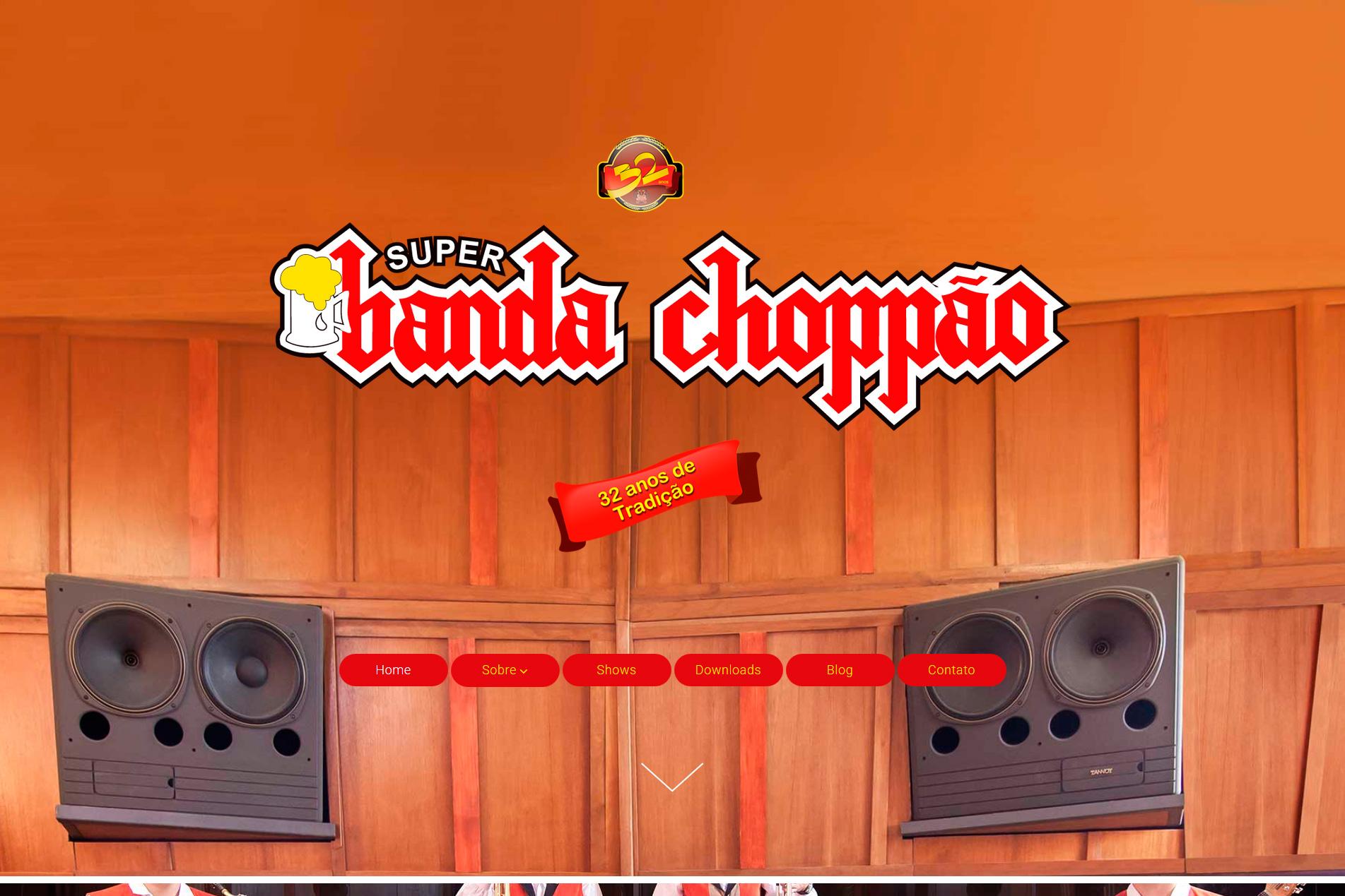 Site - BANDA CHOPPÃO