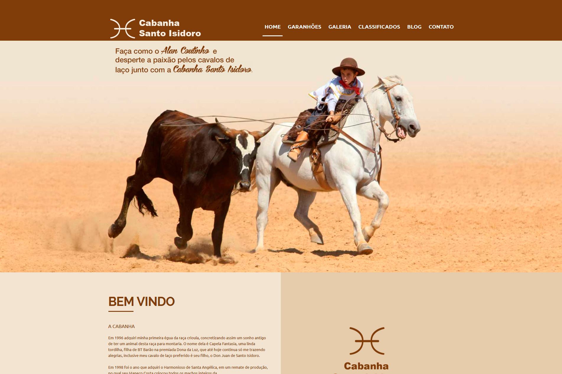 Site - CABANHA SANTO ISIDORO