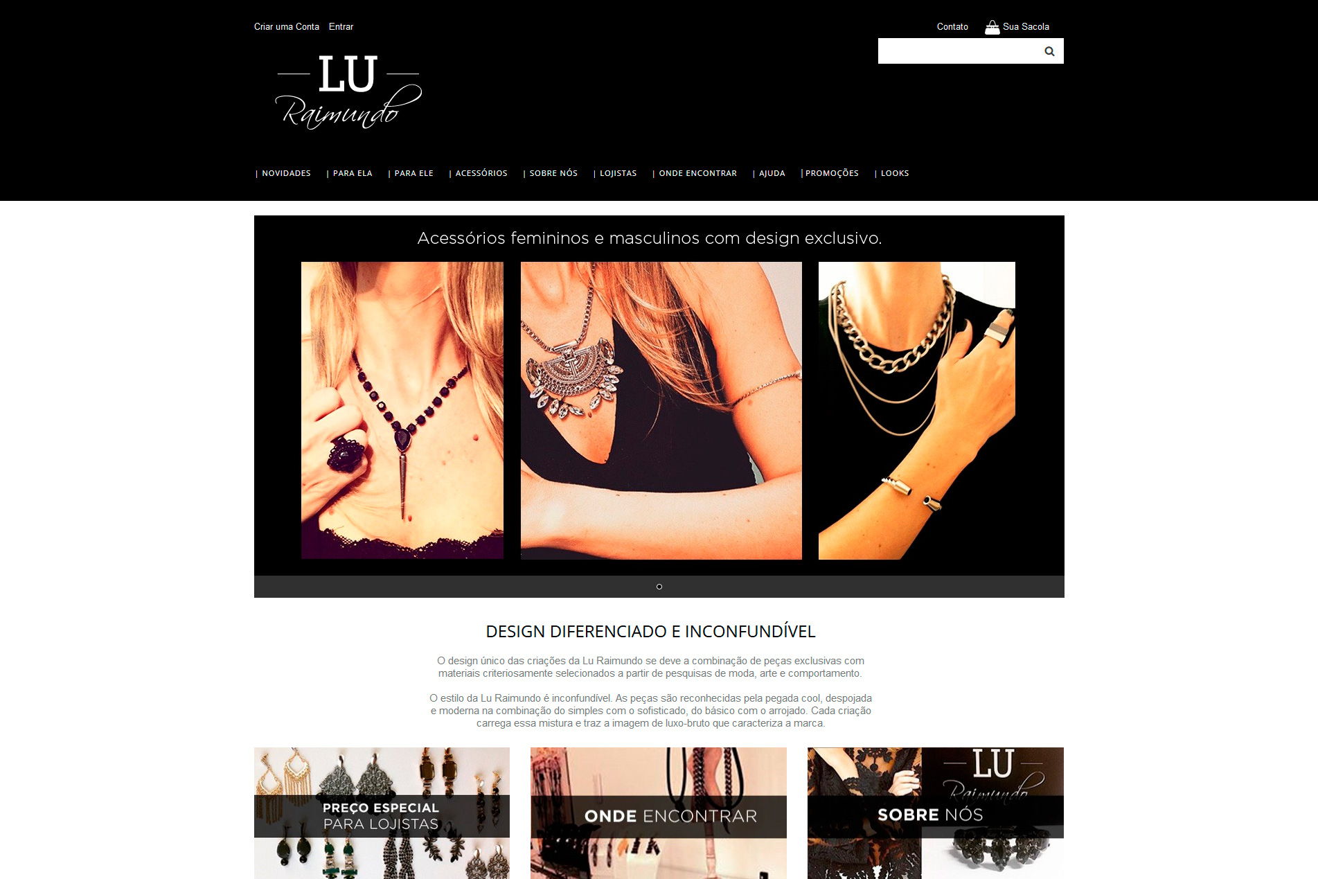 Loja Virtual - LU RAIMUNDO DESIGN
