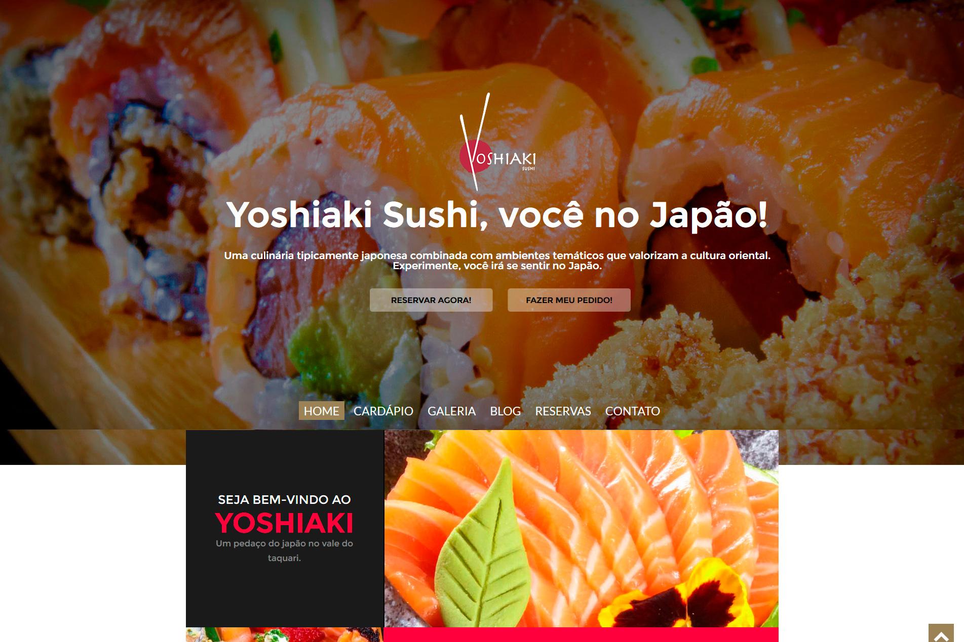 Site - YOSHIAKI SUSHI